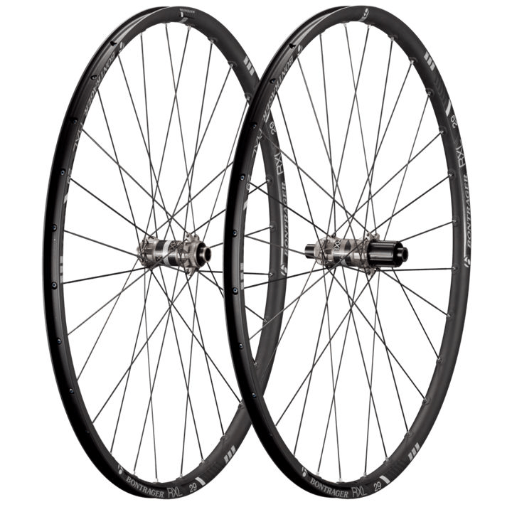Bontrager Wheel Front Race X Lite 29 TLR CL Disc 5/15 Black - Cycles Galleria Melbourne