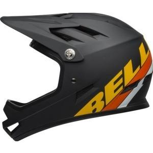 Bell Sanction Helmet Matte Black / Yellow / Orange L Accessory - Helmet BELL