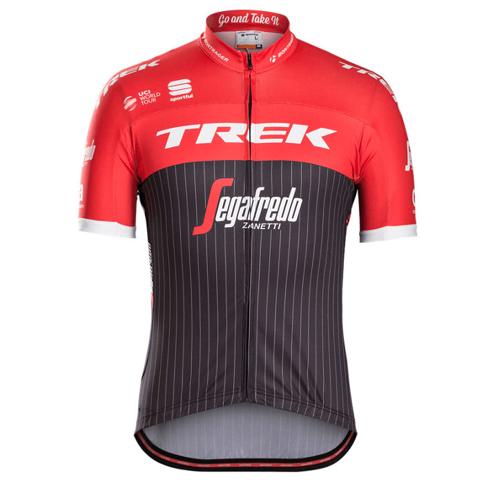 Sportful Trek-Segafredo Replica Men's Jersey - CLOSEOUT