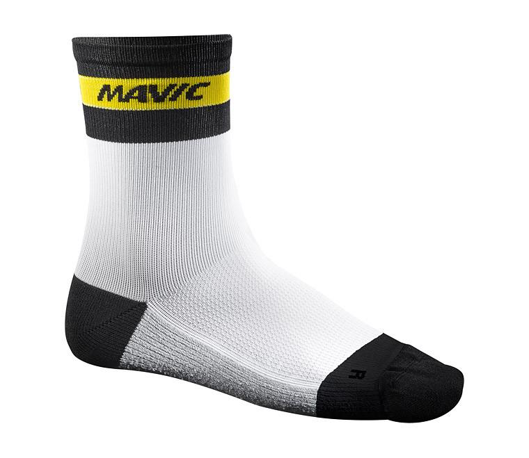 Mavic Ksyrium Carbon Socks - White