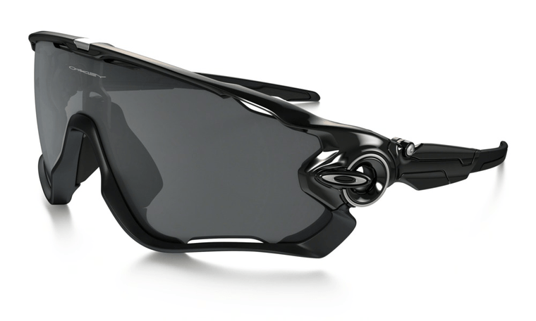 Oakley  Jawbreaker Polished Black w/Black Iridium  Lens