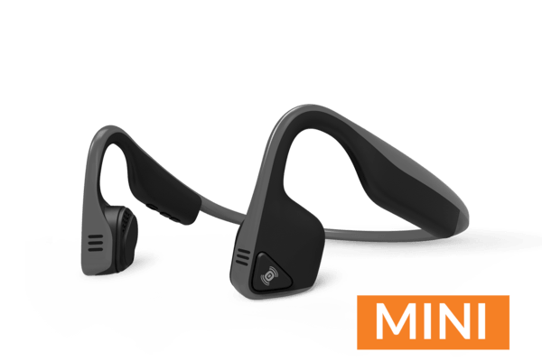 Aftershokz Trekz Titanium Wireless Headphones MINI - Slate Grey - Cycles Galleria Melbourne