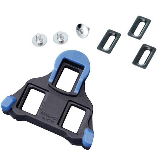 Shimano SH12 SPD-SL Road Cleat Set - Blue - Cycles Galleria Melbourne