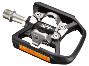 Shimano T780 XT Touring Pedals - Black - Cycles Galleria Melbourne