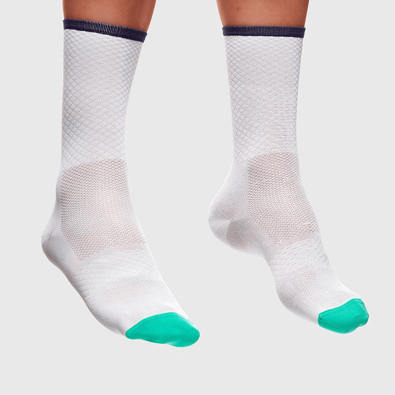 MAAP Band Pro Sock White - Cycles Galleria Melbourne