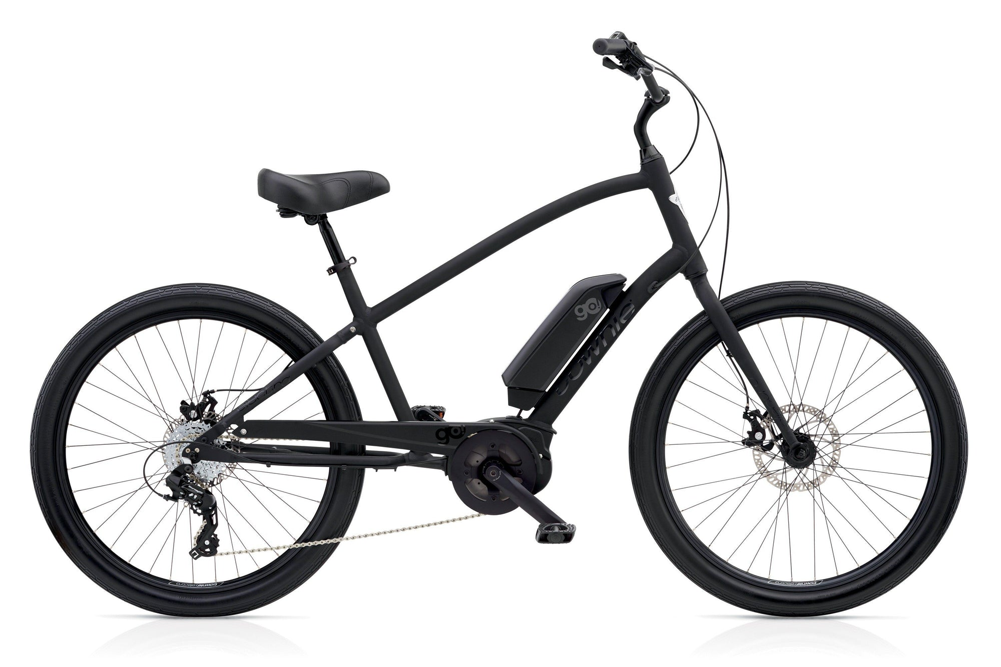 Electra Townie Go! 8D Men's Electric Black 2019