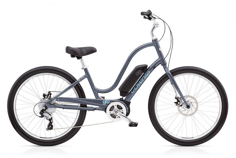 Electra Townie Go! 8D Ladies Cosmic Grey