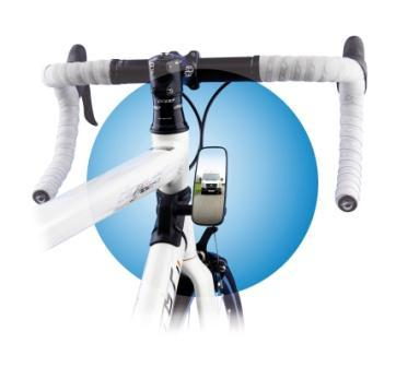 BIKE EYE, Frame Mounted Mirror