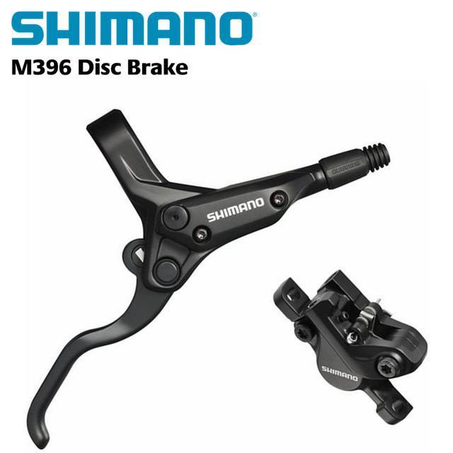 BR-M395 FRONT DISC BRAKE ACERA BL-M396 RIGHT LEVER BLACK