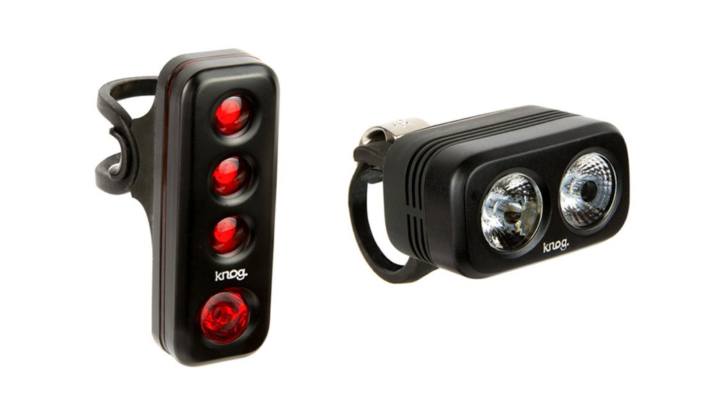 Knog Blinder Road 250 + R70 Twin Pack Black - Cycles Galleria Melbourne
