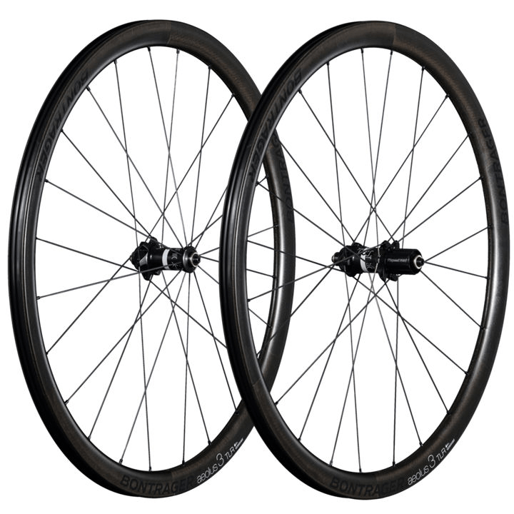 Bontrager Wheel Rear Aeolus3 TLR DiscClincher Shim 11 Black - Cycles Galleria Melbourne