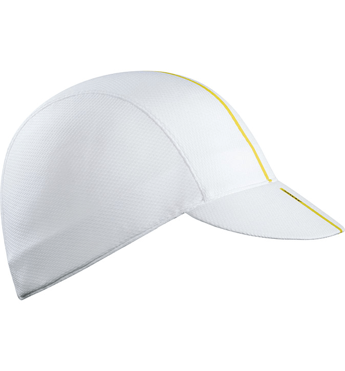 Mavic Road Cap White - Cycles Galleria Melbourne