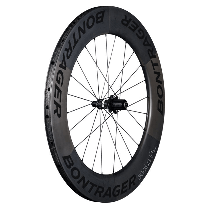 Bontrager Wheel Rear Aeolus 9 D3 Tubular Shim 11 Black - Cycles Galleria Melbourne