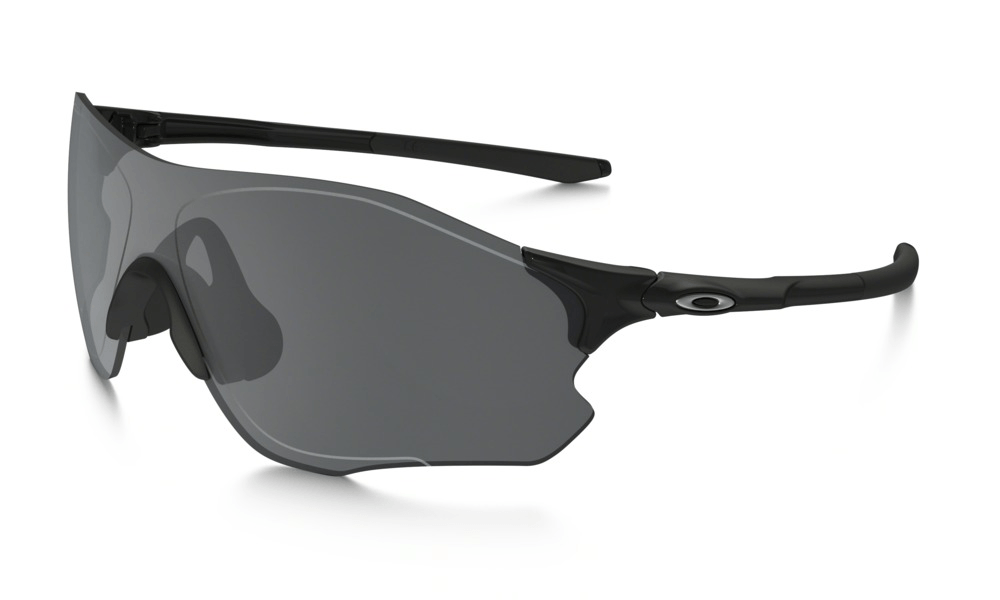 Oakley  EVZero Path Polished Black w/Black Iridium  Lens