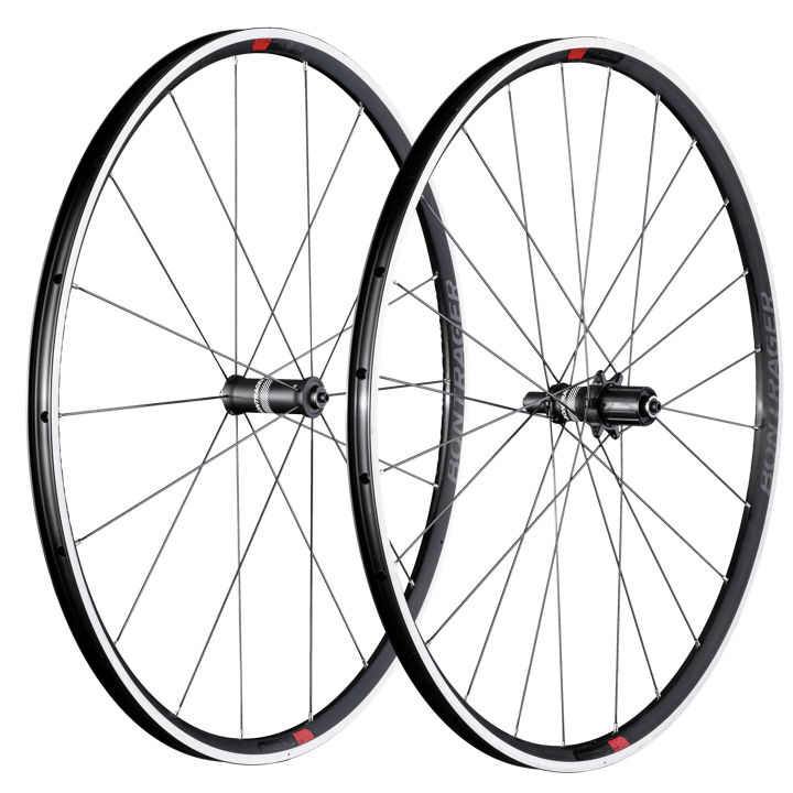 Bontrager Wheel Rear Paradigm Comp Clincher S11 Char/Red