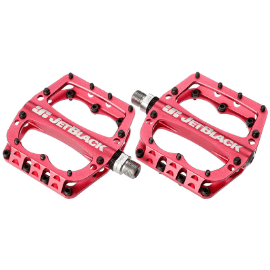JetBlack JB Superlight MTB Pedals Low Profile - Red - Cycles Galleria Melbourne