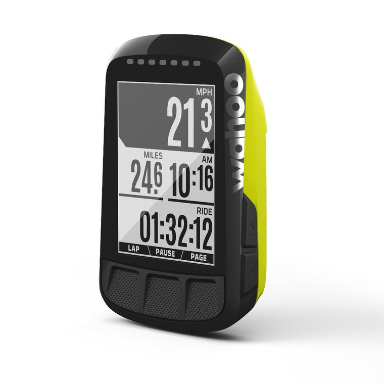 Wahoo ELEMNT BOLT GPS Bike Computer - Limited Edition Chartreuse