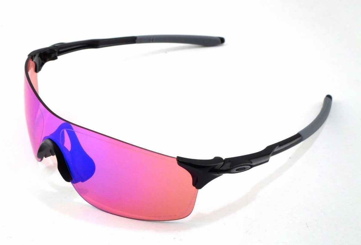 Oakley  EVZero Pitch Polished Black w/ Prizm Trail Lens - Cycles Galleria Melbourne