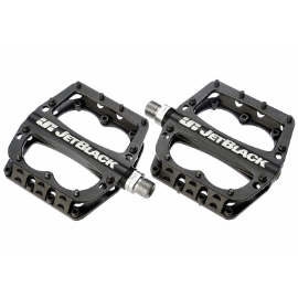 JetBlack JB Superlight MTB Pedals Low Profile - Black - Cycles Galleria Melbourne