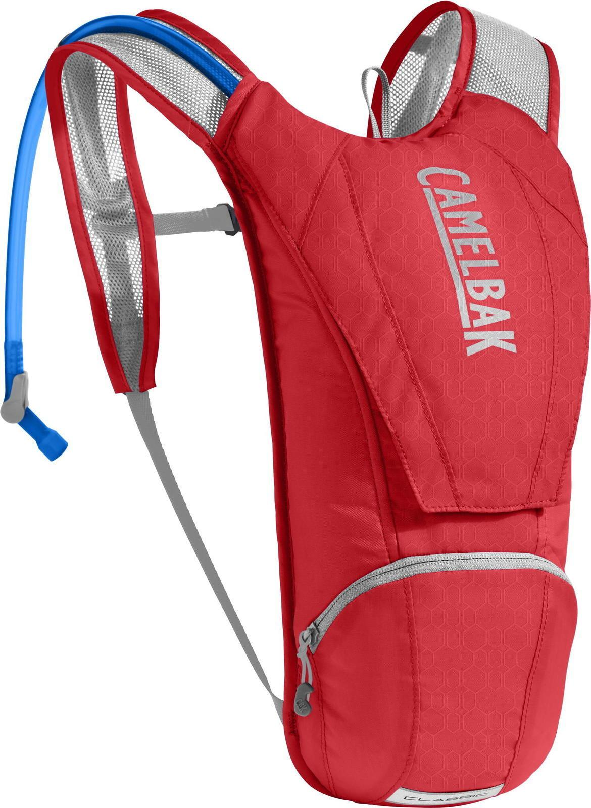 CamelBak Classic 2.5L Racing Red/Silver Bag - Cycles Galleria Melbourne