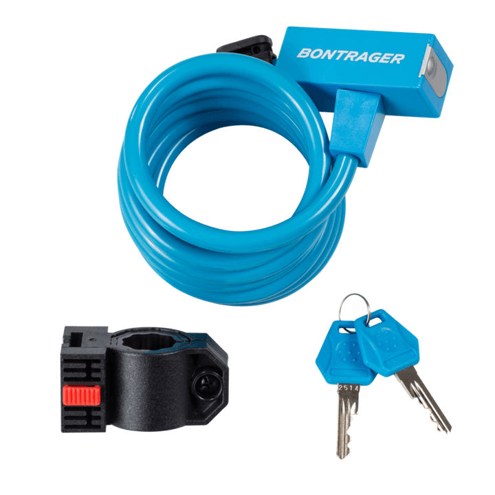 Bontrager Lock Cable Key 10 mm x 72 in Blue - Cycles Galleria Melbourne