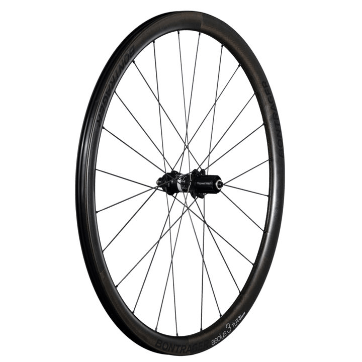 Bontrager Wheel Rear Aeolus3 TLR DiscClincher Shim 11 Black