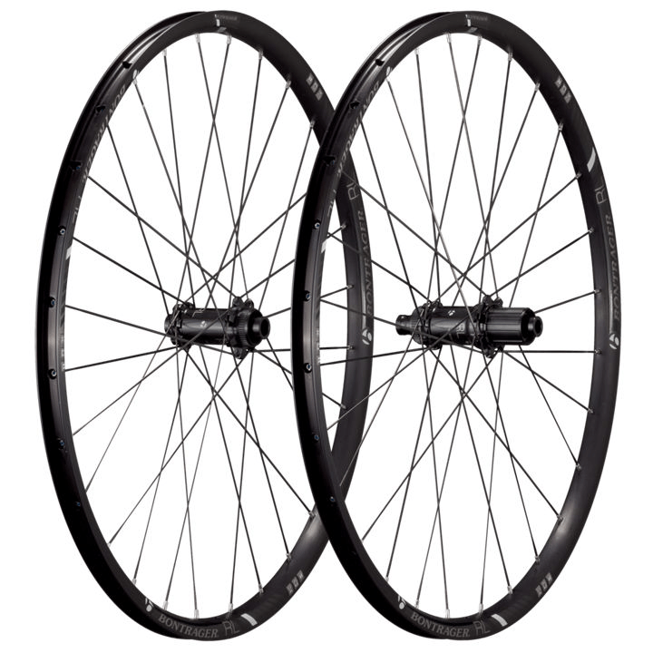 Bontrager Wheel Front Race Lite 26 TLR CL Disc 5/15 Black