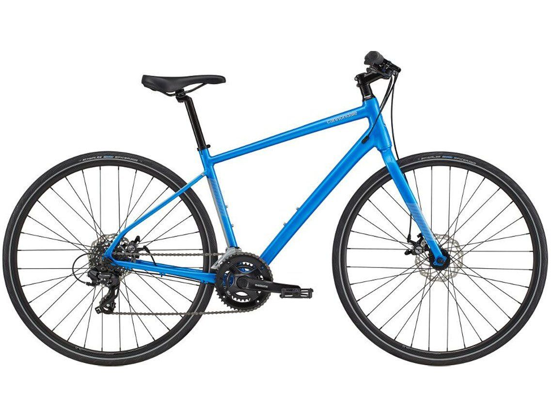 Cannondale Quick 5 Disc 2020 Blue Large