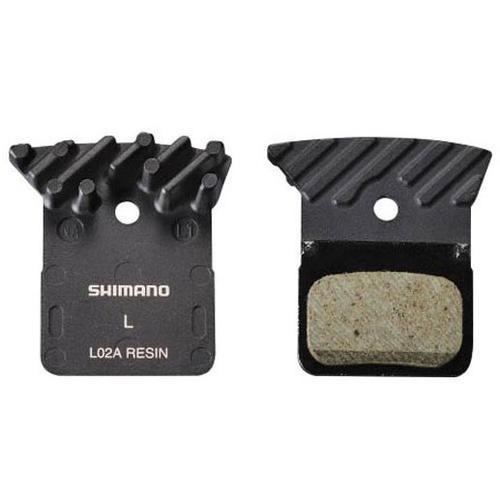SHIMANO PAD DISC RESIN BR-RS505 SPRING L02A w/FIN