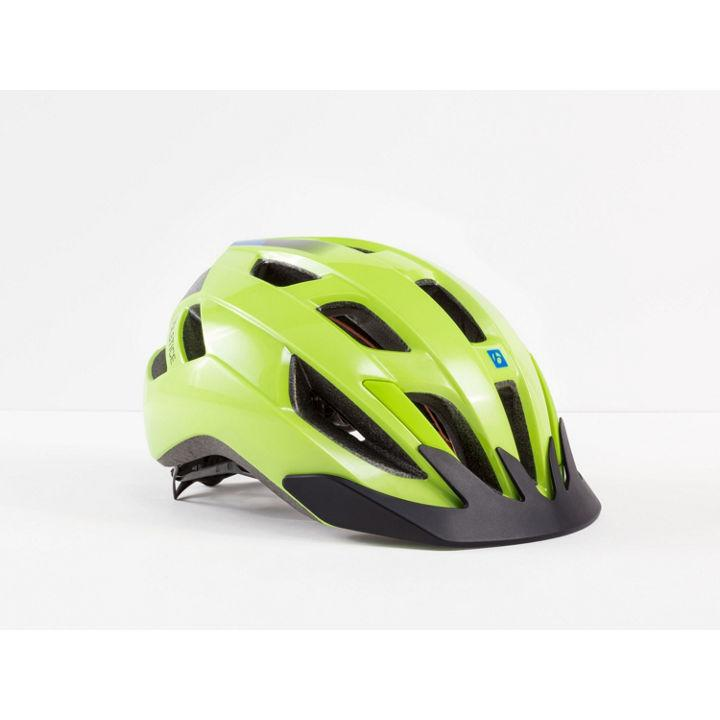 Bontrager Solstice Youth Helmet QAS  Radioactive Yellow/Waterloo Blue