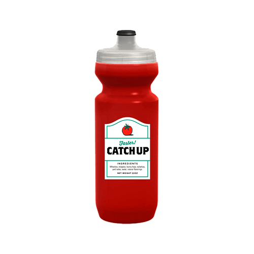Spurcycle Catchup Water Bottle