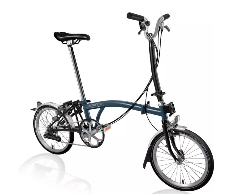 Brompton MY20 H6L Tempest Blue - Cycles Galleria Melbourne