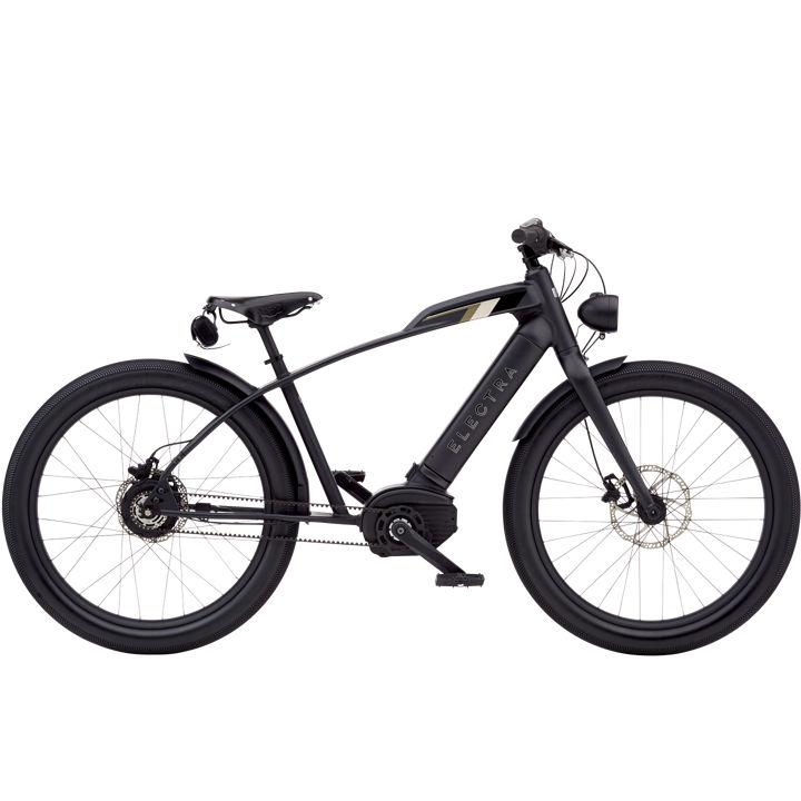 Electra Cafe Moto Go! E-Bike Matte Black 26""