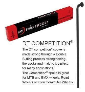 D.T Competion 294mm Black 14g/15g14g Double Butted