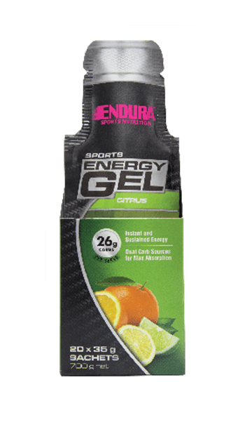 Endura Energy Gel Citrus 35Gm
