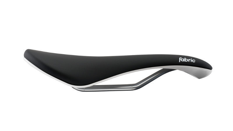 Fabric Scoop Elite Saddle Radius - Black/White - Cycles Galleria Melbourne