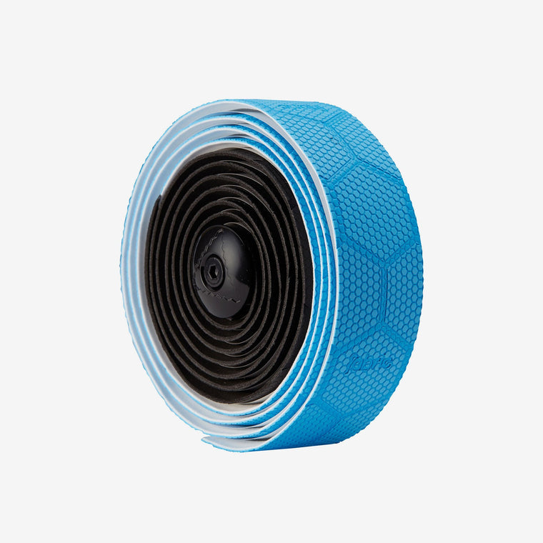 Fabric Hex Duo Black/Blue Bar tape