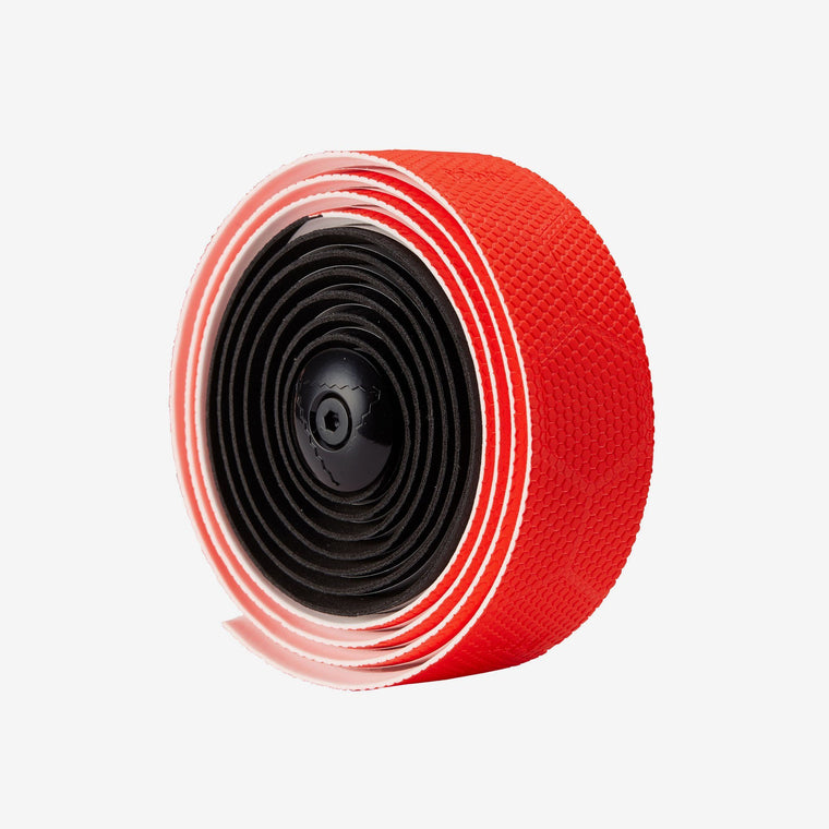 Fabric Hex Duo Black/Red Bar tape