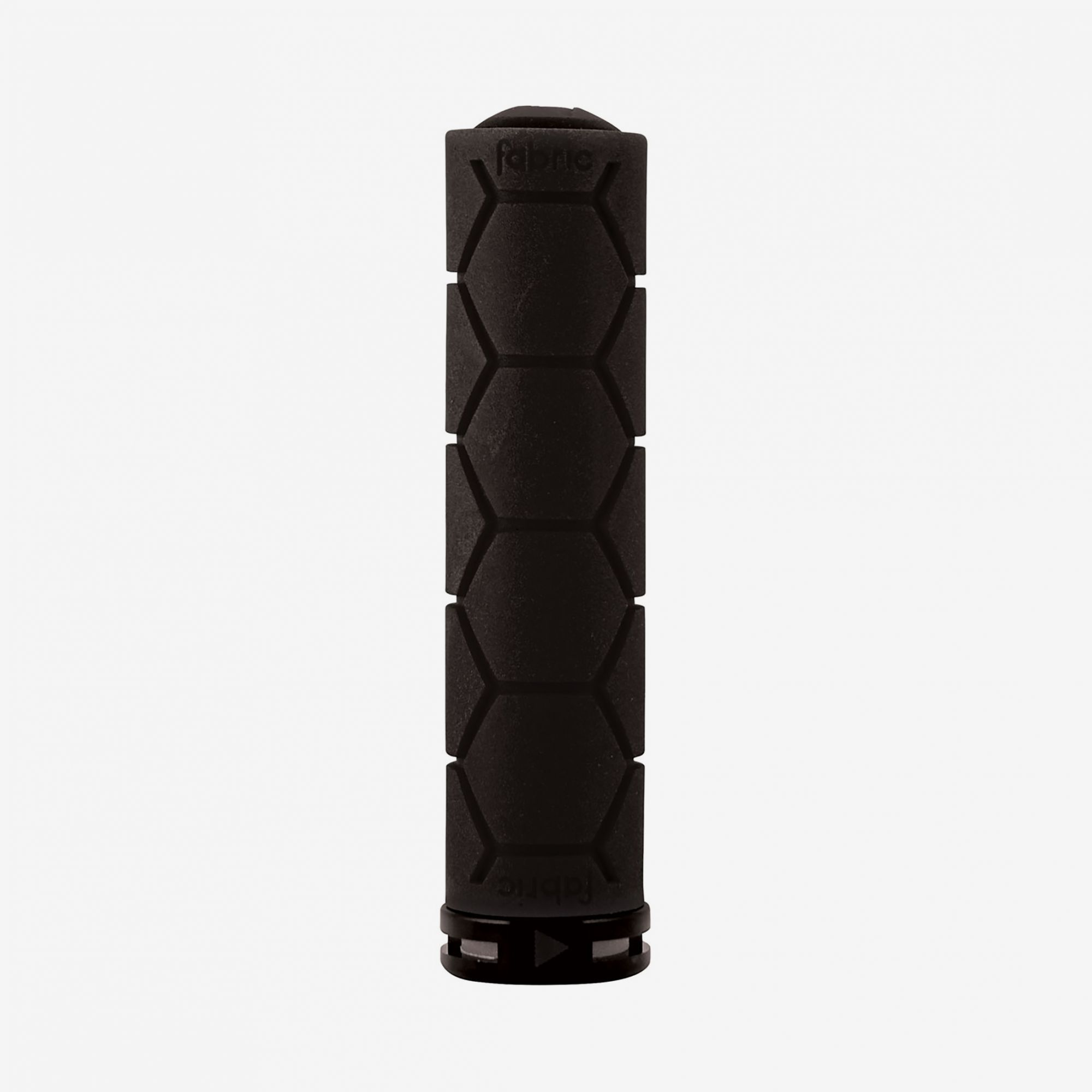Fabric Black Lock On Silicone Grips - Cycles Galleria Melbourne