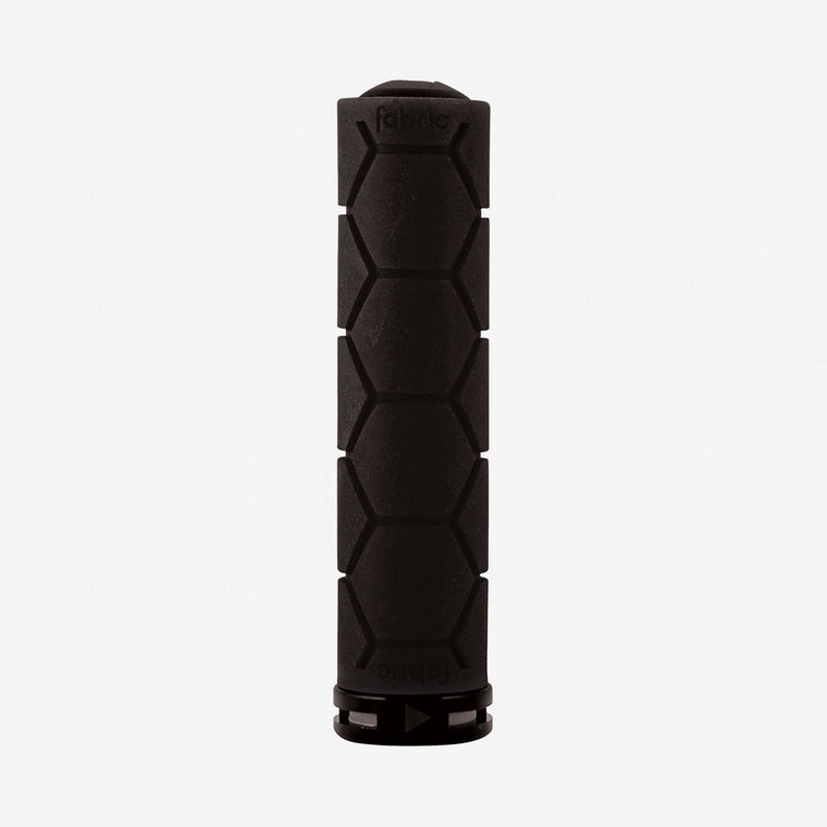 Fabric Black Lock On Silicone Grips