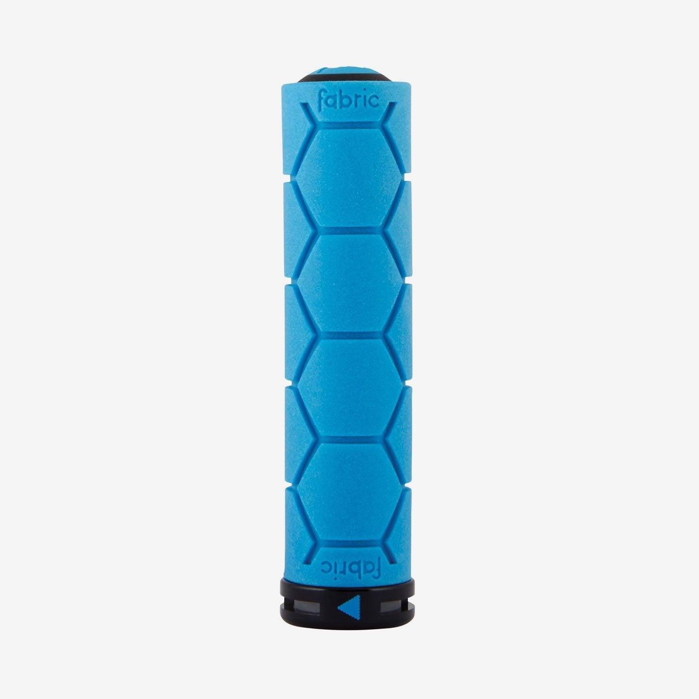 Fabric Blue Lock On Silicone Grips - Cycles Galleria Melbourne