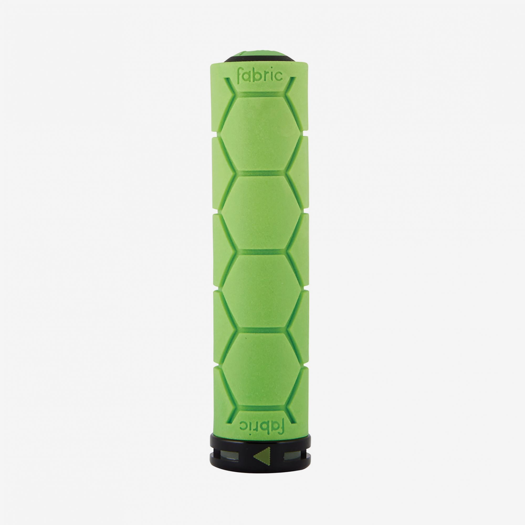 Fabric Green Lock On Silicone Grips - Cycles Galleria Melbourne