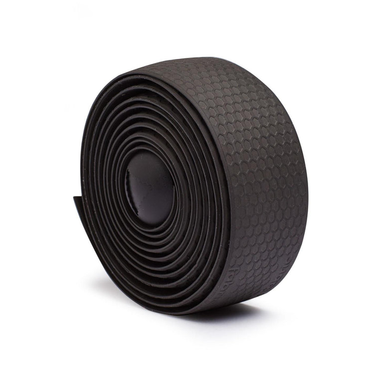 Fabric Silicone Handlebar Tape - Black - Cycles Galleria Melbourne