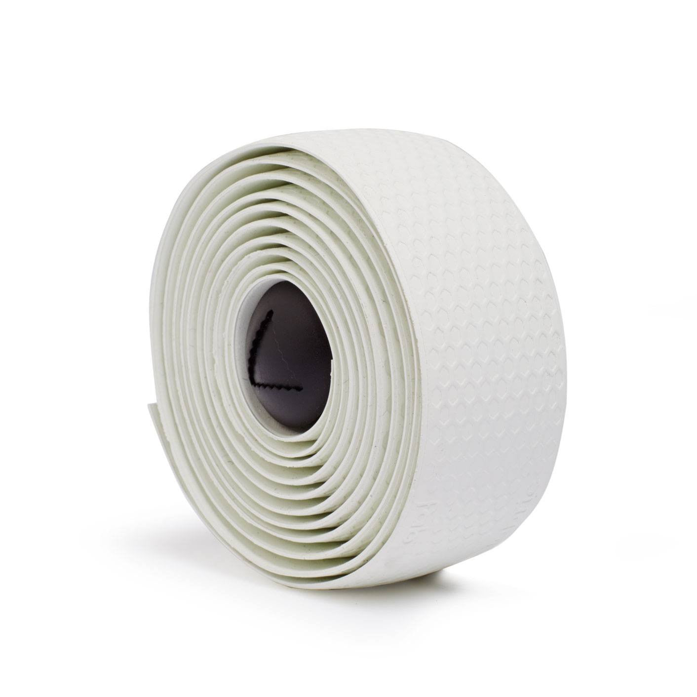 Fabric Silicone Handlebar Tape - White - Cycles Galleria Melbourne
