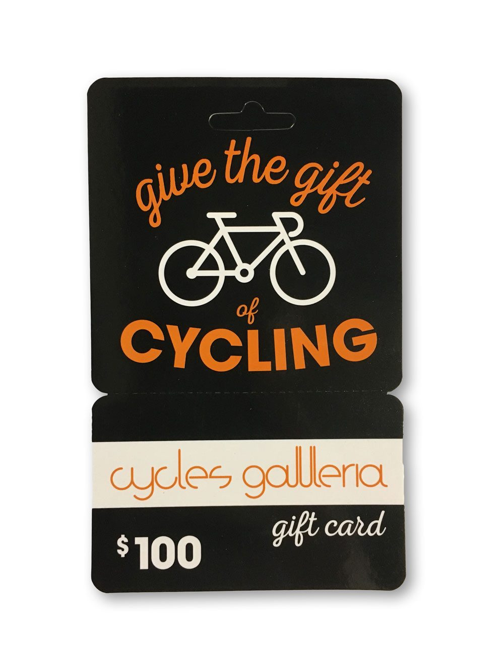 Cycles Galleria Gift Card $100 - Cycles Galleria Melbourne