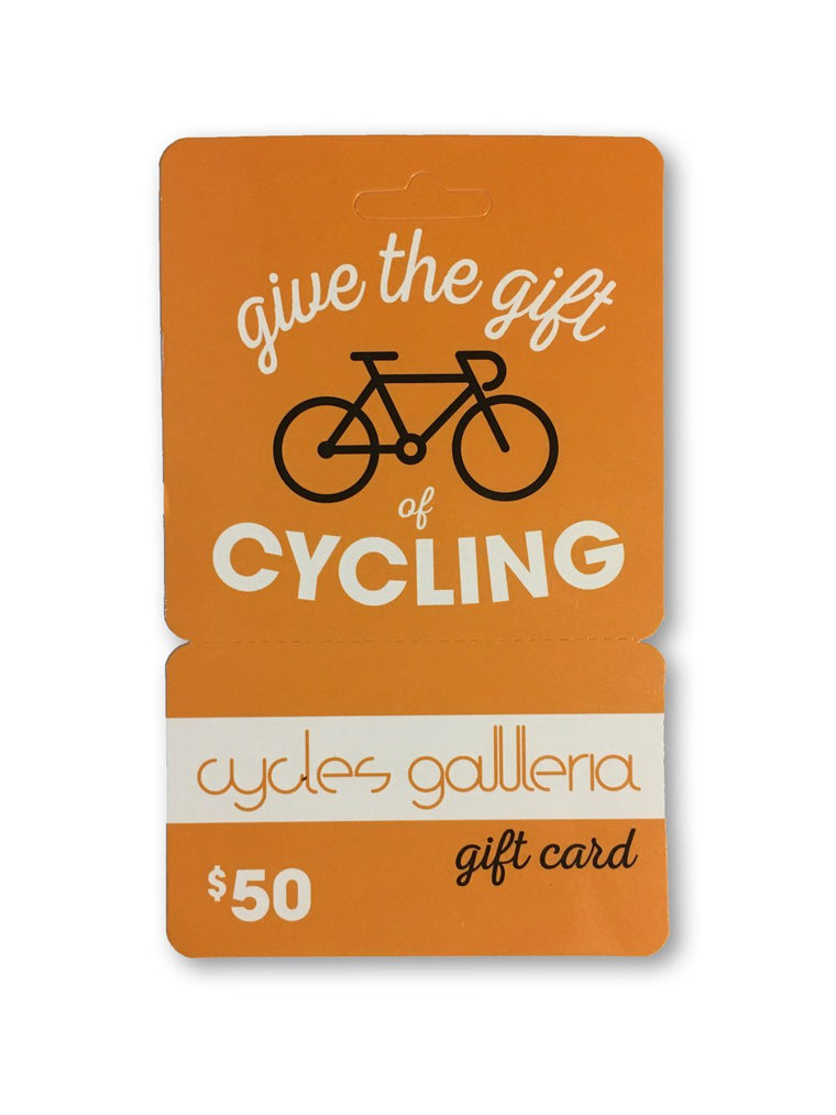 Cycles Galleria Gift Card $50 - Cycles Galleria Melbourne