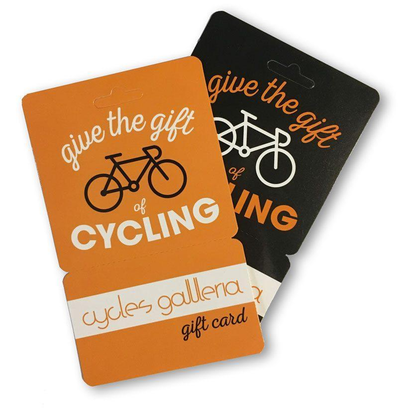 Cycles Galleria Gift Voucher - Custom Amount - Cycles Galleria Melbourne