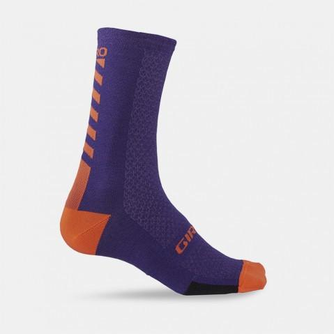 "GIRO HRC + MERINO - 7"" Cuff Sock - Cycles Galleria Melbourne"