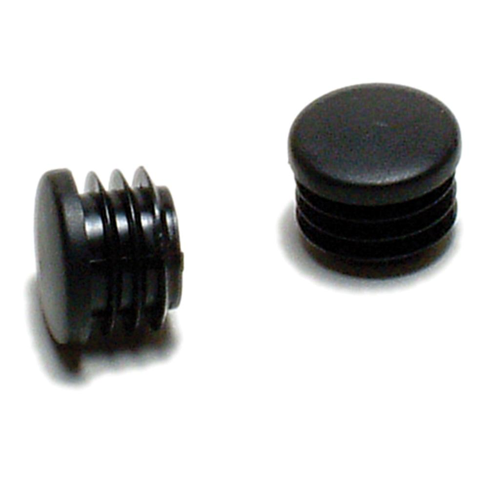 Oxford Bar End Plugs Black (Pair)