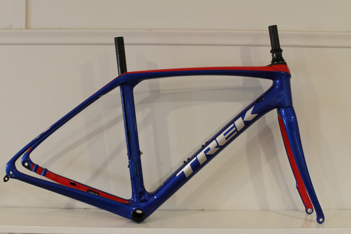 Trek Domane SLR Disc Frameset 52cm Blue & Red